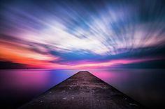 Selkirk Pier by Bradley P Smith