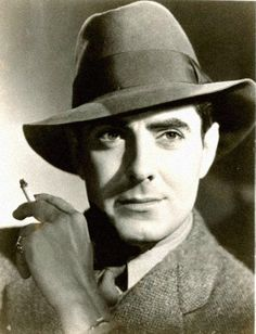Tyrone Power, fashion hat