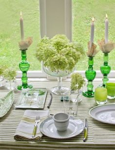 Table Settings.  Designer: Ted Kennedy Watson.