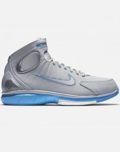 b2cf3698d388 Nike Air Zoom Huarache 2K4 (Wolf Grey Cool Grey-University Blue-White