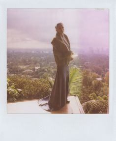 Elena Anaya in Band of Outsiders.  Shot at the Sheats/Goldstein Residence (by John Lautner) in Beverly Hills, CA.  October 4th, 2011.