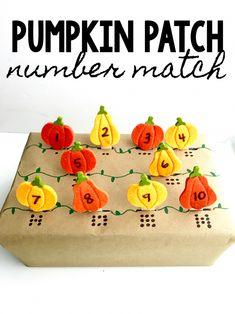 Pumpkin Patch Number