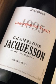 JACQUESSON Millésime 1995 DT The Marketing, Etiquette, Good Things, Drinks, Bottle, France, Logo, Wine, Champagne