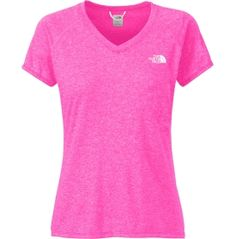 The North Face Women's Reaxion Amp V-Neck T-Shirt - Dick's Sporting Goods
