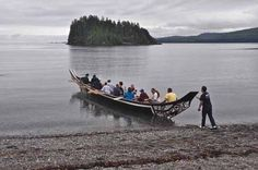 Book a Traditional Haida Canoe Tour at the Haida Heritage Centre ...