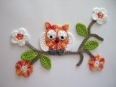 This Pin was discovered by Yeş Scrap Crochet, Crochet Cactus, Crochet Owls, Crochet Leaves, Crochet Stars, Freeform Crochet, Tunisian Crochet, Crochet Gifts, Crochet Motif