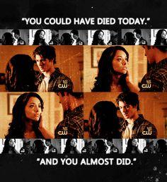 The Vampire Diaries   Bonnie & Jeremy