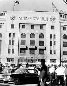 Yankee Stadium, fans arrive to watch the game between the New York Giants and the St. Louis Cardinals, New York, November Everett. New York City NYC Kids Series, Yankee Stadium, Thing 1, First Photograph, New York Giants, Poster On, New York Yankees, Cardinals, Fine Art America