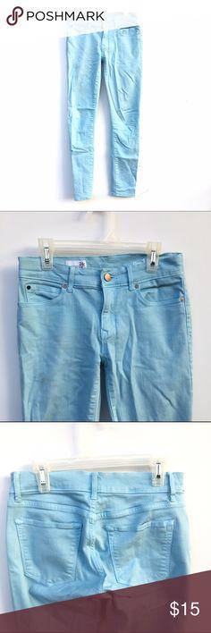 Gap Light Blue Jeggings Light sky blue Gap Jeggings. Stretchy material, size 24r. GAP Jeans Skinny