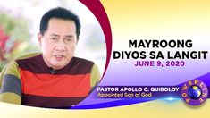 MAYROONG DIYOS SA LANGIT Spiritual Enlightenment, Spirituality, Thank You Pastor, Disciple Me, Kingdom Of Heaven, Great Leaders, Son Of God, Apollo, Gods Love
