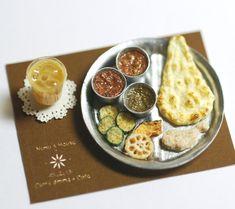 miniature indian cuisine                                                                                                                                                                                 もっと見る