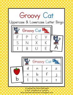 Free printable bingo cards pinterest alphabet bingo bingo card groovy cat letter bingo spiritdancerdesigns Image collections
