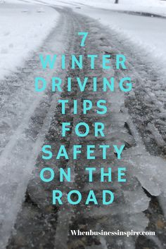 Get safe driving tips for winter in this quick guide. #winter #drive #drivesafe #driving #traveltips #winteriscoming #