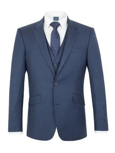 Buy: Men's Aston & Gunn Oxenhope sharkskin tailored jacket, Blue for just: House of Fraser Currently Offers: Men's Aston & Gunn Oxenhope sharkskin tailored jacket, Blue from Store Category: Men > Suits & Tailoring > Suit Jackets for just: Tailored Jacket, Tailored Suits, Slim Fit Jackets, Suit Jackets, Best Shopping Sites, Deal Sale, Fitted Suit, Mens Clothing Styles, Mens Suits