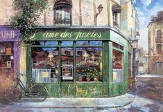 Póngame un café: Kit Cheung Lai , París en los pinceles