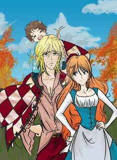 howl+and+sophie+book+fan+art | In which Morgan ruins hair... by ~LovelyRugby on deviantART