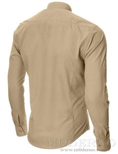 •Fabric: 80% Cotton, 20% Polyester•Color: Beige •Size: S / M / L / XL• Fit type: Slim• Collar type: Mao•Sleeve type: Long Sleeve •Lifestyle: Casual, Evening •Seasons: All seasons •Model: MOD1431LS •Made in Bulgaria (EU) Size Chart More colors      SIZE S M L XL SHOULDER 46.0cm|18.1-inch 48.0cm|18.9-inch 50.0cm|19.7-inch 52.0cm|20.5-inch CHEST 100.0cm|39.4-inch 104.0cm|40.1-inch 108.0cm|42.5-inch 112.0cm|44.1-inch WAIST 84.0cm|33.1-inch 88...