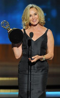 Jessica Lange from 2014 Emmys: Winners  Actress, Miniseries/Movie: American Horror Story: Coven