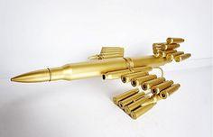 Redneck Crafts, Ammo Crafts, Welding Crafts, Welding Art, Bullet Casing Crafts, Bullet Crafts, Bullet Art, Bullet Shell, Shotgun Shell Crafts