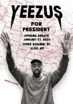Kanye for president, opening debate, for the fans - Guus Liebrand