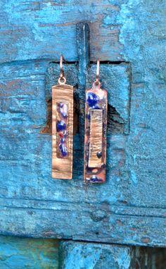 Rusztik-earring by ScillaCreations on Etsy