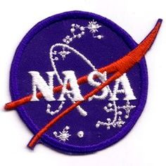 nasa sew on patch Button Badge, Sew On Patches, Nasa, Kids Rugs, Sewing, Typo, Badges, Earth, Buttons