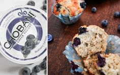 Passionfruit, Blueberry and Yoghurt Muffins
