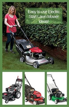 19 Best Electric Start Lawn Mower images in 2016 | Electric