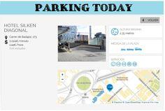 wesmartPark Parking - Hotel Silken Diagonal - Ubicación: Carrer Badajoz 173. Únete a la #parkvolucion y a la economía colaborativa!