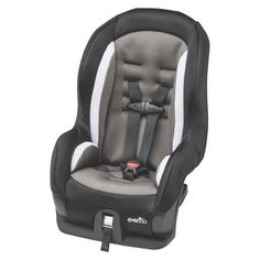 From one of the most trusted names in baby gear comes the Evenflo Tribute Convertible Car Seat, offering lightweight portability, compact size, convertible functioning and, most importantly, protection that exceeds federal safety standards. This infant car seat has been rigorously tested for structural integrity in side impact collisions and received ratings at 2X the federal crash test standard. Knowledge like this lets you drive knowing your most precious cargo is secure. This convertible…