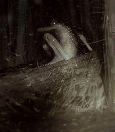 Moth king by Sergey Kolesov   Horror   2D   CGSociety