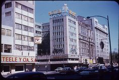 """Hotel Regis, Exterior, Mexico City, 1967"" - To learn more, visit the Robert Foster Photographs in the Ball State University Digital Media Repository. Copyright 2014, Ball State University. All rights reserved."