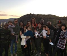 Kourtney Kardashian Celebrates First Thanksgiving With Son Reign in Matching Fuzzy White Outfits   E! Online