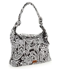 Print Knot Hobo Bag