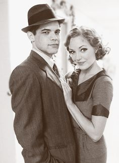 Bonnie & Clyde - hehehehe...I loved it when Herman told Laura he didn't like that she played a murderer =)