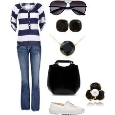 """Black and white"" by jossiebristow on Polyvore"