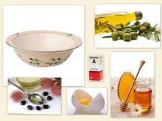 Masca de par cu ulei de masline  Uleiul de măsline face minuni pentru piele, păr și unghii. Dacă mai completam masca cu un gălbenuș de ou, o linguriță de miere, o linguriță de ulei de ricin și câteva picături de vitamina A ( se găsește în farmacii ), o să fie vizibil rezultatul. Trebuie să amesteci toate aceste ingrediente într-un bol, aplici pe păr și o lași cel puțin 2 ore.
