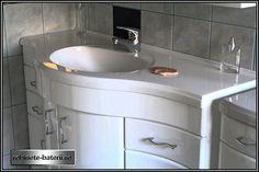 Mobilier baie curbat Glory 120 cm complet Home Decor, Sink, Decor, Home