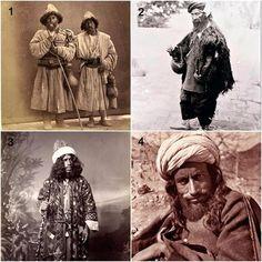 Derwische (Türkei, Afghanistan. Persien, Turkestan (Samarqand))