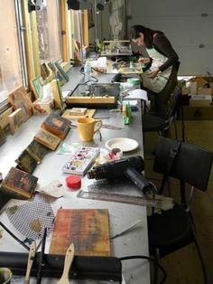 Andrew Csafordi Encaustic Painting Workshop