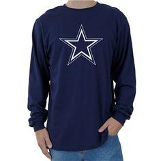 e9d9b0d8a Dallas Cowboys Logo Premier Long Sleeve Tee Dallas Cowboys Pro Shop