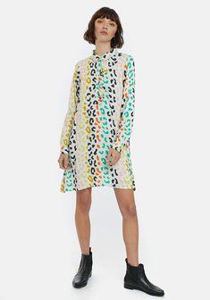 Leopard Shirt, Shirt Dress, Blouse, Cover Up, Long Sleeve, Sleeves, Shirts, Tops, Dresses