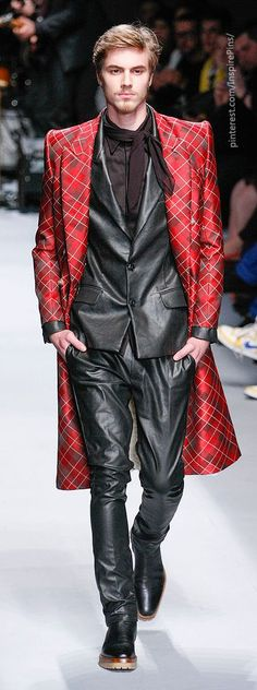 I know... It's not what I would usually wear, but I like it anyway. Joao Pimenta Men's A/W '14