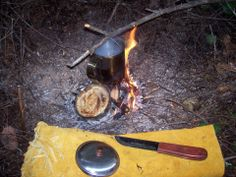 Cooking in a Mucket
