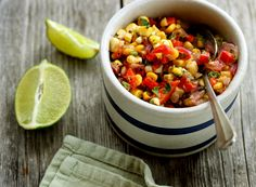 Grilled Corn Salsa | My New Roots