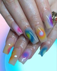 Cute Nails, Pretty Nails, Cute Acrylic Nails, My Nails, Swag Nails, Hair And Nails, Nail Inspo, Garra, Claws