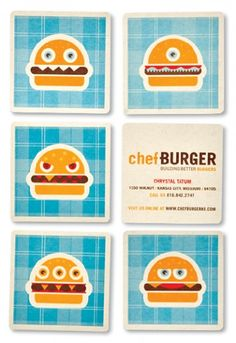 chefBURGER - design - work - tad carpenter