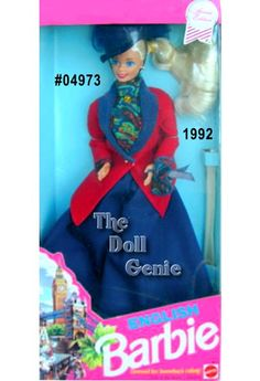 1992 Barbie - England #04973