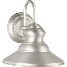 Is this the right size??  Series 393 Dark Sky Brushed Nickel One Light Outdoor Wall Light Forte Lighting Wall Mounte