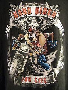 Resultado de imagem para biker tasmanian devil